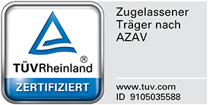 Klick zum TÜV-Zertifikat